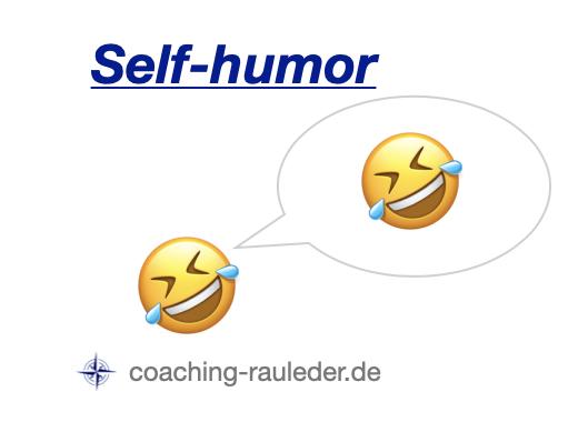 Why is self-humor so helpful?