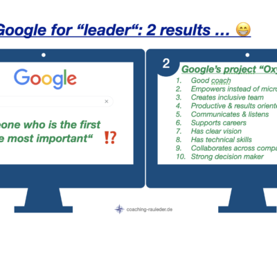 """What happens if you google for """"LEADER""""?"""